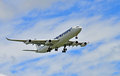 Airbus A340-300 Royalty Free Stock Photo