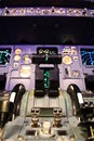 Airbus flight deck Stock Photos