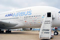 Airbus a at international aerospace salon maks taken on august in zhukovsky moscow region russia Stock Photos