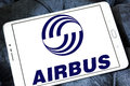 Airbus logo Royalty Free Stock Photo