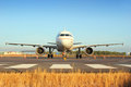 Airbus A320 Royalty Free Stock Photo
