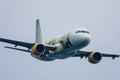 Airbus vueling Fotografía de archivo libre de regalías
