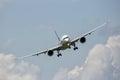 Airbus A350 XWB airplane Royalty Free Stock Photo