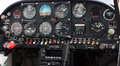 Aircraft Cockpit Instrument Panel Royalty Free Stock Photo