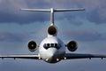 Aircraft in flight Royalty Free Stock Photo