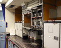 Aircraft galley Royalty Free Stock Image