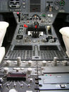 Aircraft instrumental panel Royalty Free Stock Photo