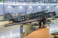 Aircraft type, junkers ju 52 Royalty Free Stock Images