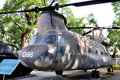 Aircraft in Vietnam War Remnants Museum Royalty Free Stock Photography