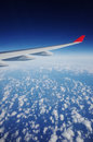 Aircraft Wing Royalty Free Stock Photo
