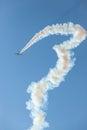Aircrafts GP Plane Flying Race Acrobatics Royalty Free Stock Photo