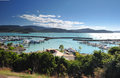 Airlie beach harbour marina , gateway to the whitsunday islands, Stock Images