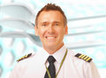 Airline pilot Royalty Free Stock Image