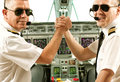 Airline pilots Royalty Free Stock Photo