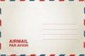 Airmail postcard Royalty Free Stock Photo