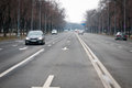 Airmen boulevard view in bucharest romania Stock Images