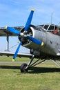 Airplane Antonov 2 Royalty Free Stock Image