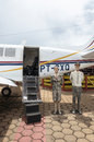 Airplane attraction for tourists at Rodo Master