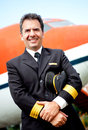 Airplane pilot Royalty Free Stock Photography