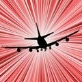Airplane speed
