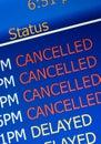 Airport delay Royalty Free Stock Photo