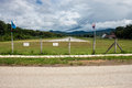 Airport in pai northern thailand Stock Photo