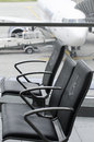 Airport priority seats Royalty Free Stock Photo