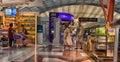 Airport terminal at Suvarnabhumi Airport