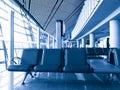 Airport Terminal Waiting Area Stock Photography