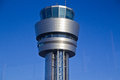 AIRPORT TOWER Royalty Free Stock Photo