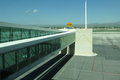 Airport walkway dual to gate Royalty Free Stock Image