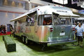 Airstream classic car on display at the th bangkok internatio march international motor show march in thailand Stock Photography