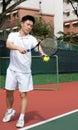Aisan Tennis Player Stock Images