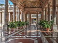 Aisle in Montecatini Terme Royalty Free Stock Photo