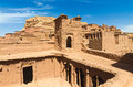 Ait Benhaddou,fortified city, kasbah or ksar in Ouarzazate, Morocco Royalty Free Stock Photo