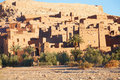 Ait benhaddou is a fortified city or ksar along the former caravan route between the sahara and marrakech in morocco Royalty Free Stock Photography