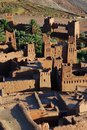 Ait benhaddou souss massa drâa marrocos Foto de Stock Royalty Free