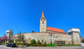 Aiud medieval fortress Royalty Free Stock Photo
