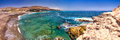 Ajuy coastline with vulcanic mountains on Fuerteventura island, Canary Islands, Spain Royalty Free Stock Photo