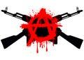 Ak47 symbol anarchy