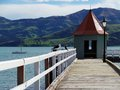 Akaroa Harbour, New Zealand Royalty Free Stock Photo