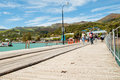 Akaroa, New Zealand Royalty Free Stock Photo
