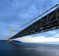 Akashi Bridge Royalty Free Stock Photography