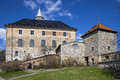 Akershus festning south wing castle and maiden tower oslo norway Stock Photo