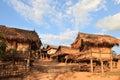 Picture : Akha tribe village (Laos) mountain thai tourist