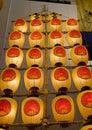 Kanto Lanterns at museum in Akita, Japan Royalty Free Stock Photo