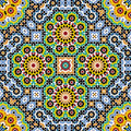 Akram morocco pattern four Foto de Stock Royalty Free