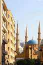 The Al-Amine Mosque in Beirut (Lebanon) Royalty Free Stock Image