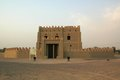 Al anka fort near al ain a built to protect the oasis recently refurbished Royalty Free Stock Images