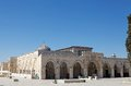 Al aqsa mosque at the temple mount jereusalem israel Royalty Free Stock Image